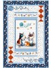 """Purrfectly Precious Quilt by Natalie Crabtree /43""""x63"""""""