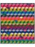 "Tumbling Blocks Quilt by Marsha Evans Moore /45-3/4x53-3/4"""