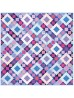 """Fairy Frost Twilight Sky Quilt by Heidi Pridemore /62.5""""x62.5"""""""