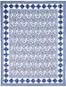 Toujours Bleu et Blanc Quilt by Marinda Stewart
