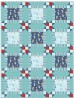 """Wee Ones Blue Quilt by Christine Stainbrook /36""""x48"""""""