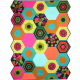 Hexagon Puzzle QUILTS by Marinda Stewart